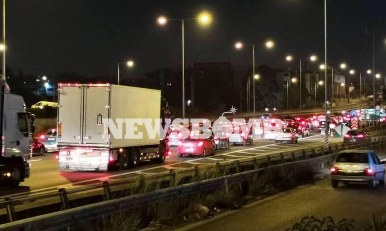 Κίνηση τώρα: Κυκλοφοριακό χάος στην Αθήνα - Δραματική η κατάσταση στον Κηφισό