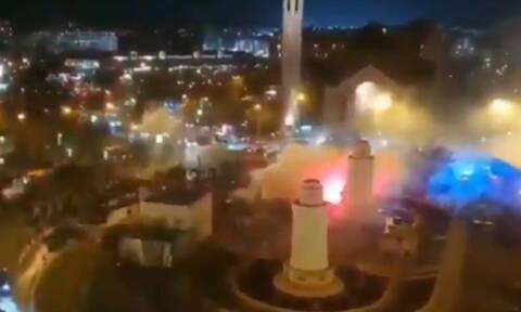 Χάος και ξύλο στο Παρίσι με Γάλλους και οπαδούς της Γαλατάσαραϊ (videos+photos)