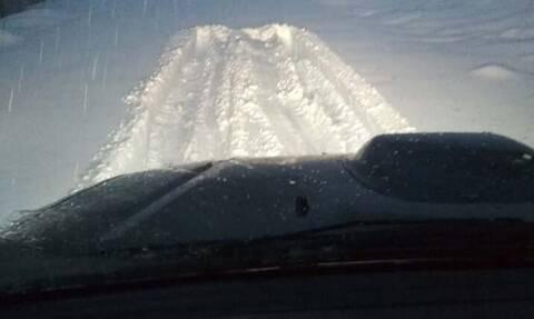 Κακοκαιρία: Το έστρωσε στα Γρεβενά - Πάνω από μισό μέτρο χιόνι (pics)