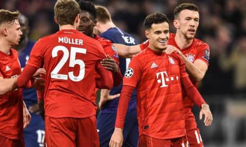 Champions League: Φινάλε πρόκρισης για Ατλέτικο, ακάθεκτη η Μπάγερν