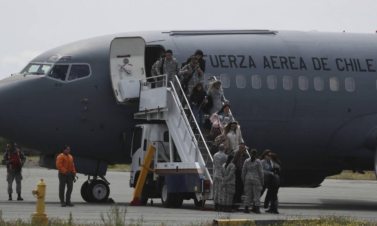 Χιλή: Θρίλερ με τα συντρίμμια του C-130 που αγνοείται από τη Δευτέρα