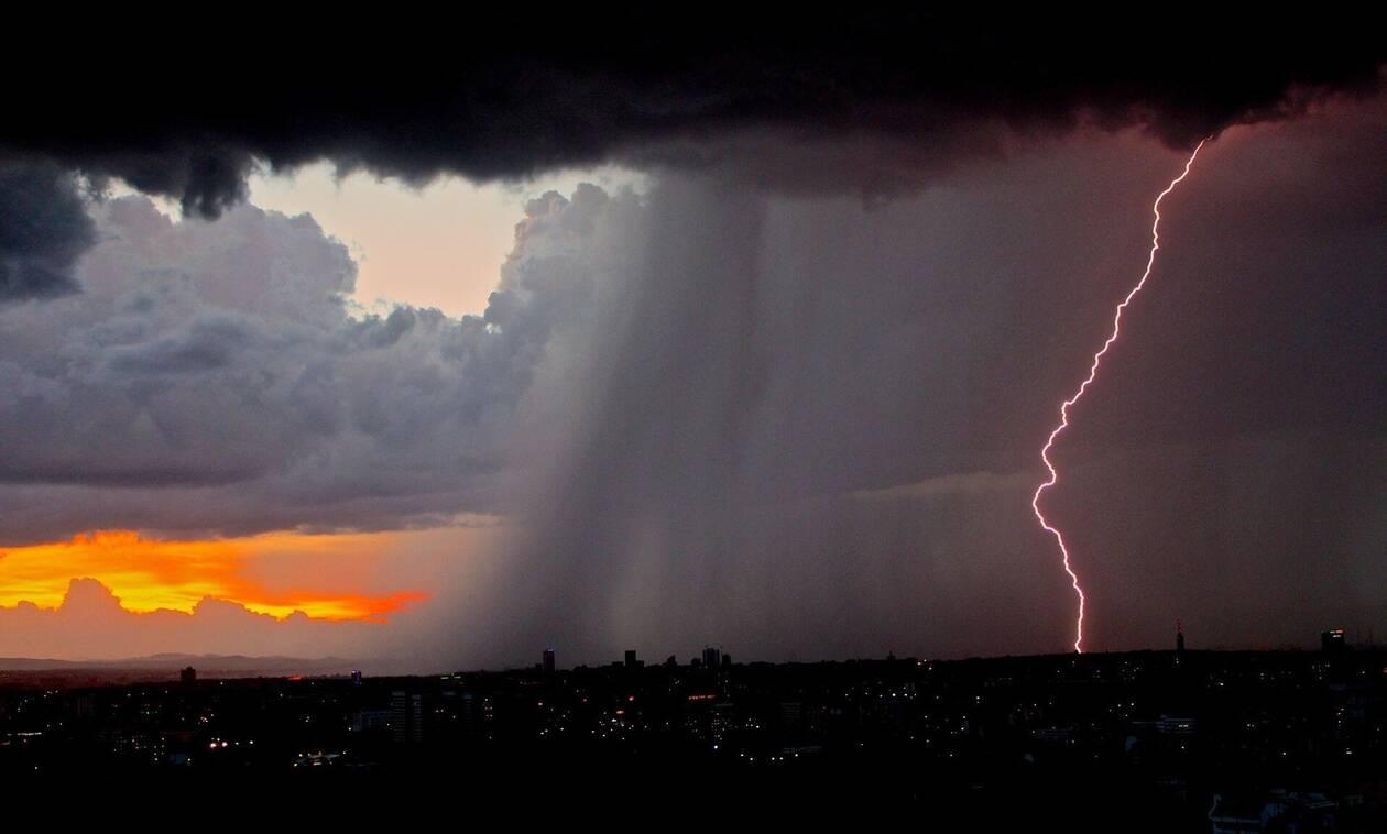 Έκτακτο δελτίο ΕΜΥ: Έντονα φαινόμενα και την Πέμπτη - Ποιες περιοχές θα χτυπήσει η «Διδώ»