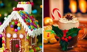 Δέκα χριστουγεννιάτικα γλυκά για παιδιά και μεγάλους (vid)