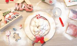 Χριστούγεννα χωρίς κουραμπιέδες είναι σαν χειμώνας χωρίς χιόνι