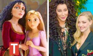 Διάσημες που μοιάζουν με πριγκίπισσες της Disney (vid)