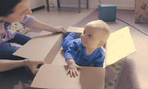Διαδραστικά παιχνίδια για μωρά από 7-9 μηνών (vid)