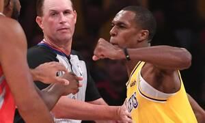 NBA: Τρελό ξύλο σε αγώνα - Ξέφυγαν τα πράγματα! (photos+video)