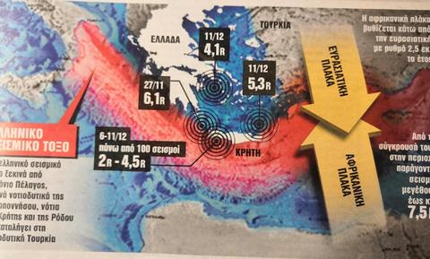 Сейсмологи предупреждают о возможном землетрясении магнитудой до 7 баллов в Греции