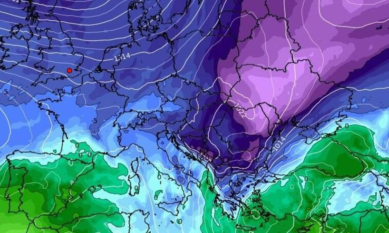 Καιρός - Πρωτοχρονιά: Ενδείξεις για σοβαρή ψυχρή εισβολή - Έρχονται χιονοπτώσεις;