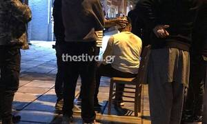 Θεσσαλονίκη: Άγριο ξύλο μεταξύ αλλοδαπών για ένα κινητό τηλέφωνο