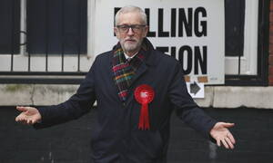 Εκλογές Βρετανία - Κόρμπιν: Δεν θα ηγηθώ του κόμματος στις επόμενες εκλογές