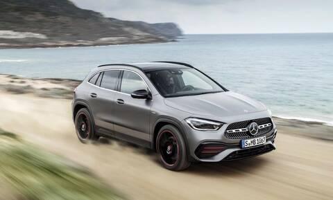 Νέα Mercedes GLA: Πιο ψηλή και πιο επιβλητική
