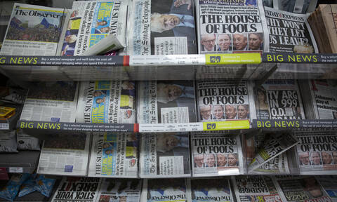 Βρετανικός Τύπος για εκλογές: «Η αυγή της Βρετανίας του Μπόρις» ή «Χριστουγεννιάτικος εφιάλτης»;