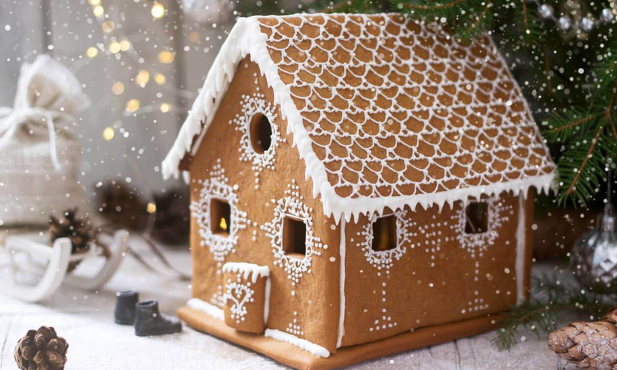 Εντυπωσιακά gingerbread σπιτάκια – Δείτε πώς θα τα φτιάξτε κι εσείς (vid)