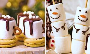 Πέντε χριστουγεννιάτικα γλυκά για παιδιά - Εύκολα και εντυπωσιακά  (vid)