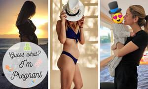 Πώς ανακοίνωσαν στα social media τις εγκυμοσύνες τους οι διάσημες Ελληνίδες μαμάδες (pics)