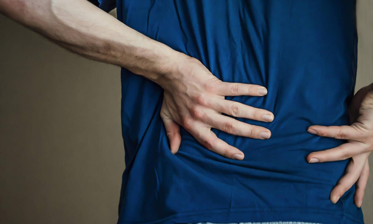 Πόνοι χαμηλά στη μέση: Πώς να κάνετε σωστά μασάζ (vid)