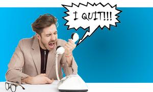 Δεν έχεις γελάσει ξανά τόσο πολύ: Δες πώς παραιτήθηκε από τη δουλειά του