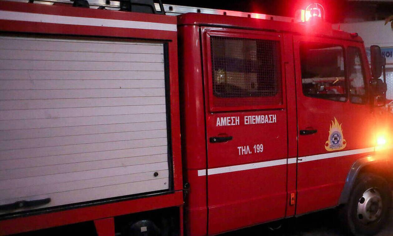 Τραγωδία στην Καρδίτσα: Νεκρός 53χρονος μετά από πυρκαγιά σε χώρο σχολείου