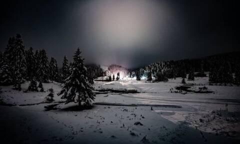 Περτούλι: Εικόνες μαγείας με τα πρώτα χιόνια (pics)