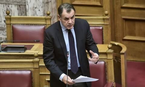 Παναγιωτόπουλος: «Δυνητική απειλή οι μεταναστευτικές ροές για την ασφάλεια της χώρας»