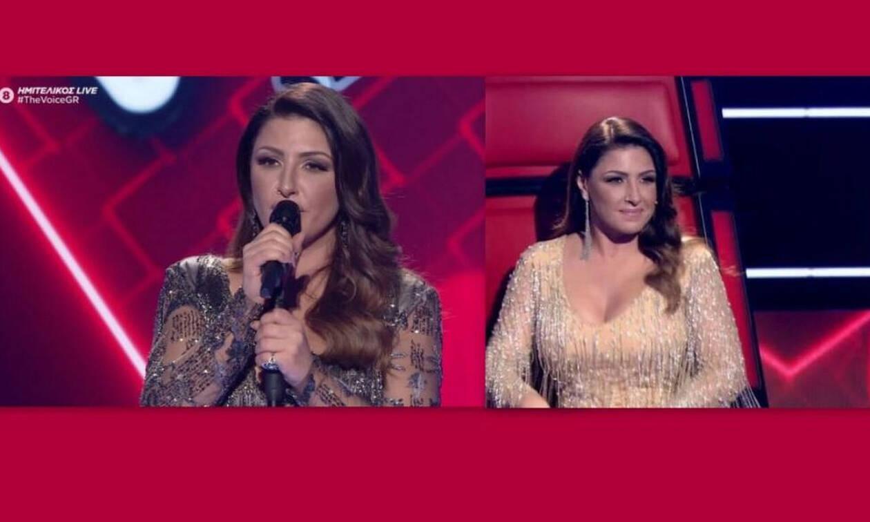 The Voice: Το δεύτερο εντυπωσιακό outifit της Έλενας Παπαρίζου και η εξομολόγηση on stage (Pics-Vid)