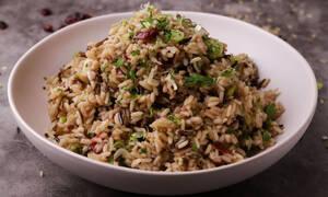 Η συνταγή της ημέρας: Χριστουγεννιάτικο ρύζι