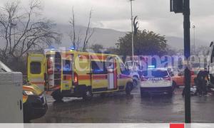 Ανατριχιαστικό τροχαίο στο Βόλο: Νεκρή γυναίκα στις ρόδες φορτηγού (ΣΚΛΗΡΕΣ ΕΙΚΟΝΕΣ)