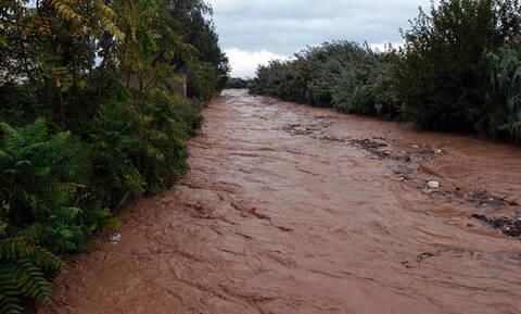 Συναγερμός στην Αχαΐα για υπερχείλιση του ποταμού Πείρου - Ανέβηκε επικίνδυνα η στάθμη του νερού