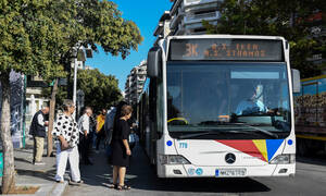 Απίστευτες σκηνές σε λεωφορείο του ΟΑΣΘ – Άφωνοι οι επιβάτες όταν είδαν… (Pics)