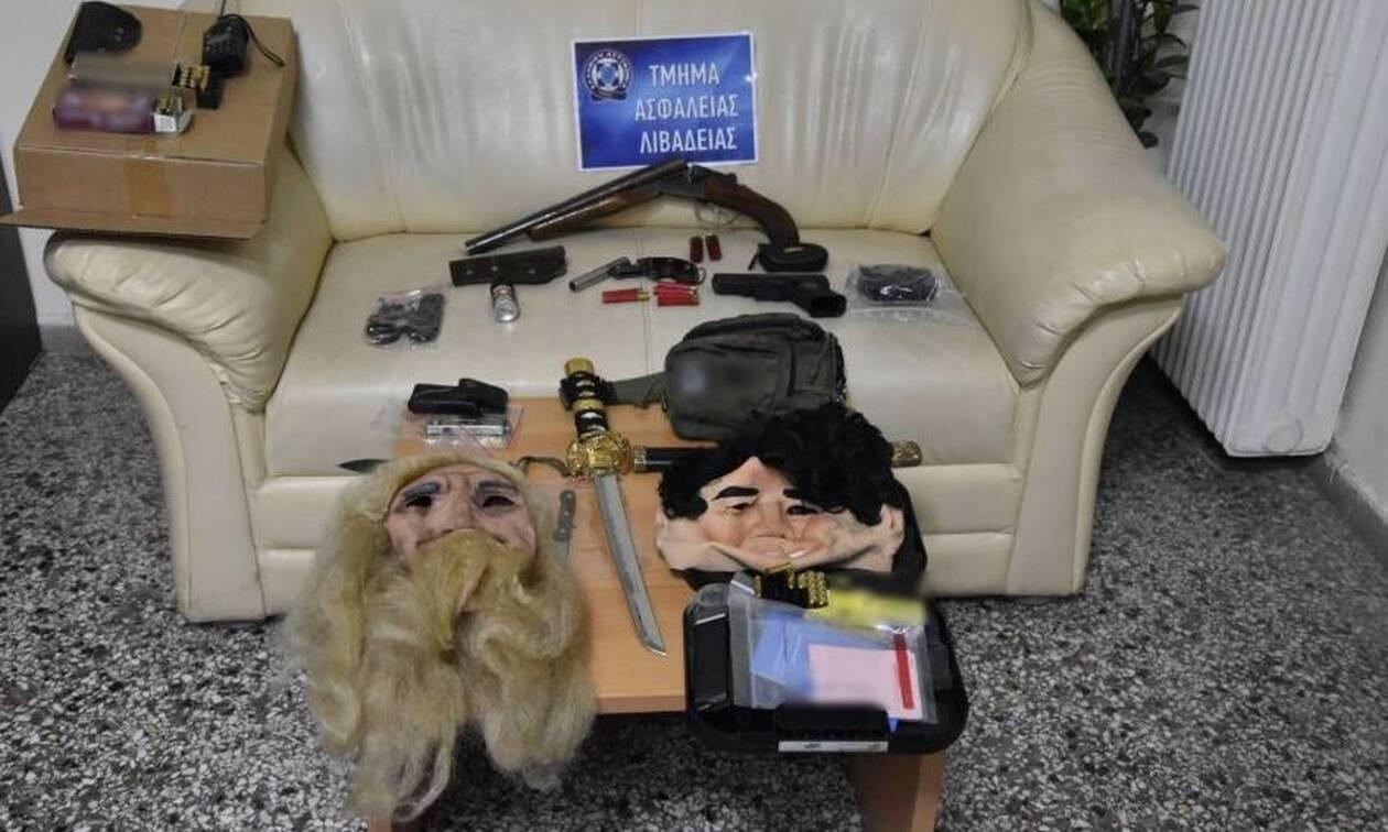 Φονικό στις Θεσπιές: Βρέθηκαν μάσκες, όπλα και φυσίγγια - Πώς σχετίζονται με την εκτέλεση; (pics)