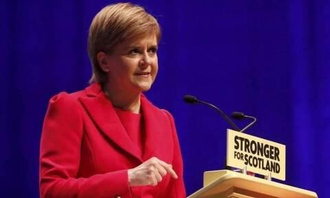 Βρετανία - Νίκολα Στέρτζον: «Η Σκωτία θέλει το δικαίωμά της να επιλέξει το δικό της μέλλον»