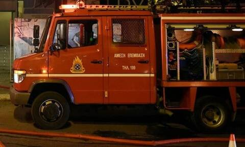 Συναγερμός στην Πυροσβεστική: Φωτιά σε υπόγειο πολυκατοικίας