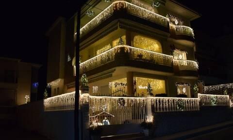 Κοζάνη: Αυτό είναι «Το σπίτι των Χριστουγέννων» (photos)