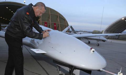 Κλιμακώνουν τις προκλήσεις: Στα κατεχόμενα για πρώτη φορά τουρκικό drone