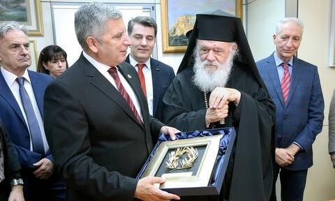 Πατούλης: Σήμερα επισφραγίσαμε το ξεκίνημα μίας νέας πορείας με την Αρχιεπισκοπή Αθηνών