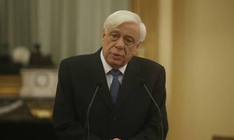 Παυλόπουλος: Oι Έλληνες υπερασπιζόμαστε τον άνθρωπο πέρα και έξω από τα σύνορά μας