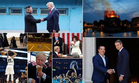 Ανασκόπηση 2019: Οι φωτογραφίες που «σημάδεψαν» τη χρονιά που έφυγε
