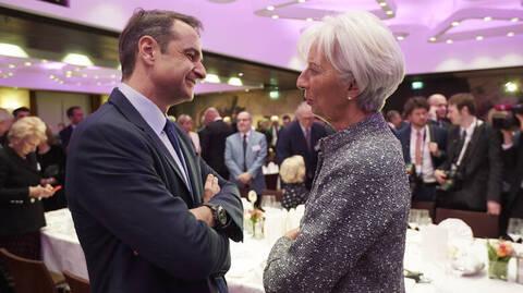 Συνάντηση Μητσοτάκη-Λαγκάρντ στην Φρανκφούρτη – Η ατζέντα του πρωθυπουργού