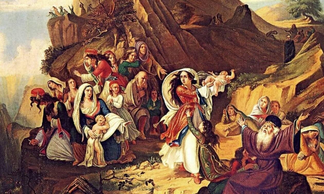 Σαν σήμερα το 1803 οι Σουλιωτοπούλες χορεύουν το χορό του Ζαλόγγου
