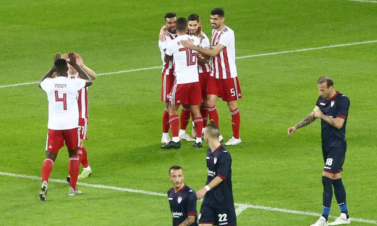 Ολυμπιακός-ΑΕΛ 4-1: Την «σκόρπισε» με σούπερ Μασούρα!