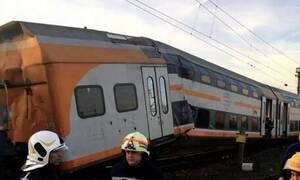 Σύγκρουση τρένων στο Βουκουρέστι - Τουλάχιστον 10 τραυματίες (vid)