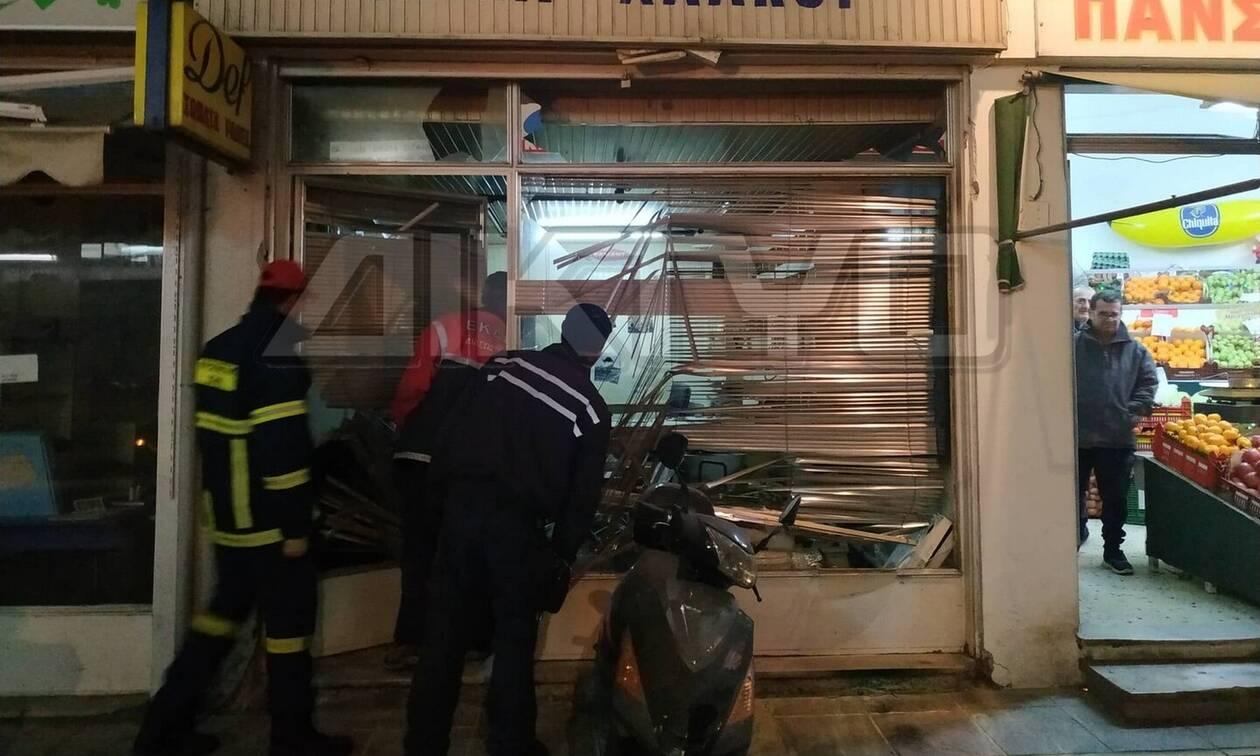 Σέρρες: Έκρηξη σε κατάστημα - Τραυματίστηκε ο ιδιοκτήτης του