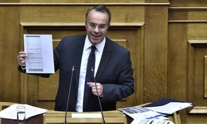 Σταϊκούρας: «Φιλικός και ρεαλιστικός ο Προϋπολογισμός του 2020» - «Παράθυρο» για μέρισμα και το 2020