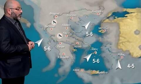 Καιρός: Τριήμερη κακοκαιρία και... χιόνια τα Χριστούγεννα, αλλά σε περιοχή που δεν φαντάζεστε! (vid)