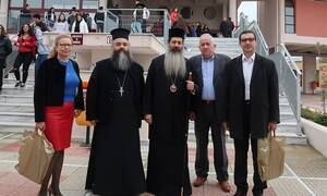 Φθιώτιδα: Με τους Θεολόγους συναντήθηκε ο Μητροπολίτης Συμεών