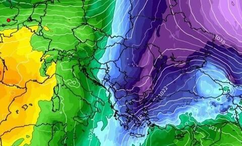 Καιρός: Τάση για ψυχρή εισβολή από 27 Δεκέμβρη. Τι δείχνουν καιρικά μοντέλα για την Πρωτοχρονιά...