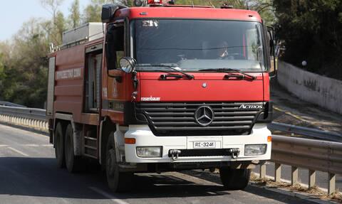 Σάμος: Φωτιά κοντά στο hotspot