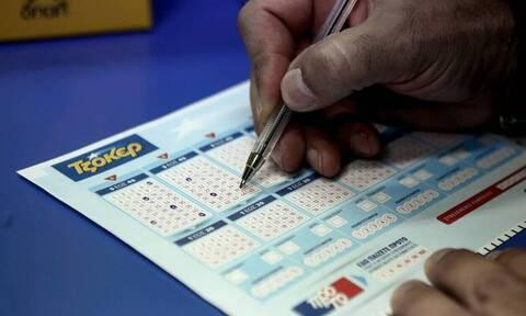 Κλήρωση Τζόκερ (19/12): Αυτοί είναι οι αριθμοί που κερδίζουν τα 3,4 εκατ. ευρώ