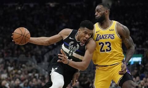 Γιάννης Αντετοκούνμπο: Ο βασιλιάς του NBA είναι Έλληνας - Ισοπέδωσε τον Λεμπρόν και τους Lakers